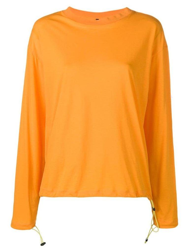 Unravel Project crew neck sweatshirt - Orange