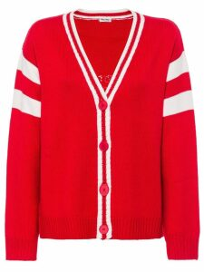 Miu Miu Wool cardigan - Red