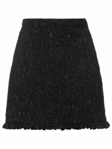Miu Miu Cloqué fabric skirt - Black