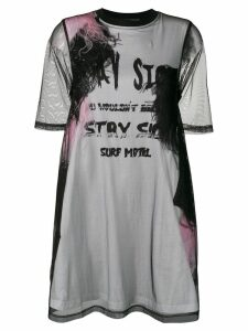 McQ Alexander McQueen oversized layered T-shirt - Black