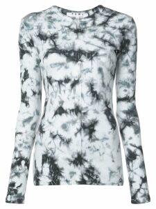 Proenza Schouler PSWL Tie Dye Rib Top - White