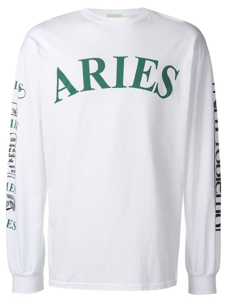 Aries Warriors sweater - White