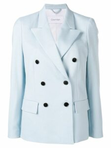 Calvin Klein double breasted blazer jacket - Blue