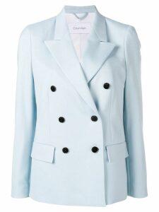 Calvin Klein double breasted blazer jacket - Blue
