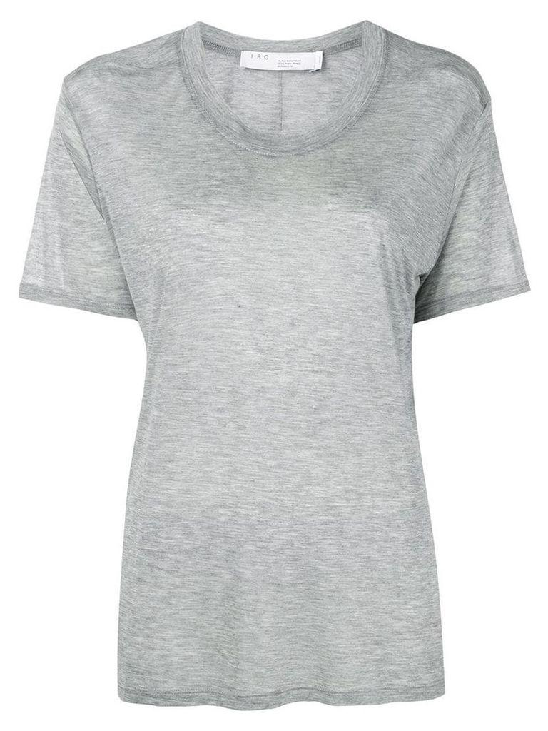 Iro slouchy round neck T-shirt - Grey