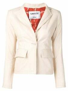 S.W.O.R.D 6.6.44 fitted blazer - Neutrals