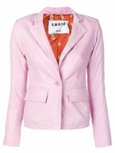 S.W.O.R.D 6.6.44 fitted blazer - Pink