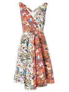 Mary Katrantzou Butterfly Flip dress - Orange