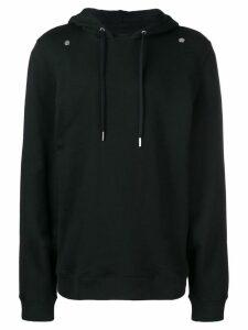 Zilver Hoodie In Organic Cotton - Black