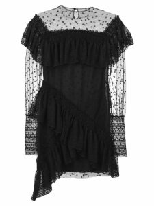 Philosophy Di Lorenzo Serafini ruffled lace dress - Black