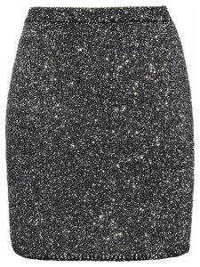 Miu Miu sequinned skirt - Grey