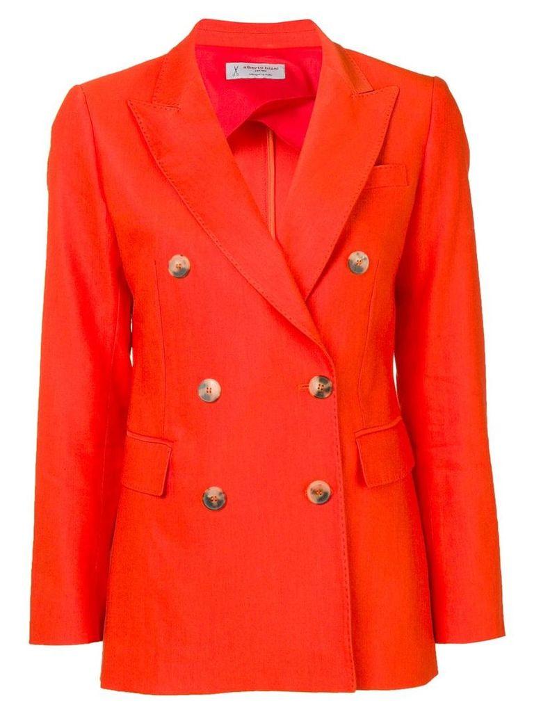 Alberto Biani double-breasted blazer - Orange