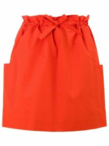 Maison Rabih Kayrouz paper bag skirt - Red