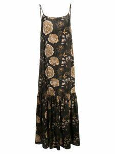 Uma Wang floral print dress - Black