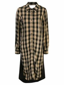 Uma Wang reconstructed dress - Black