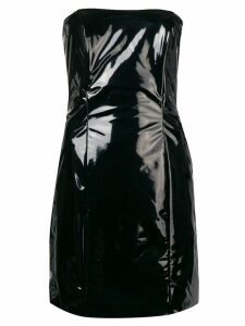 Federica Tosi strapless mini dress - Black