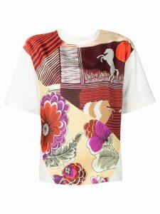 Chloé floral print T-shirt - White