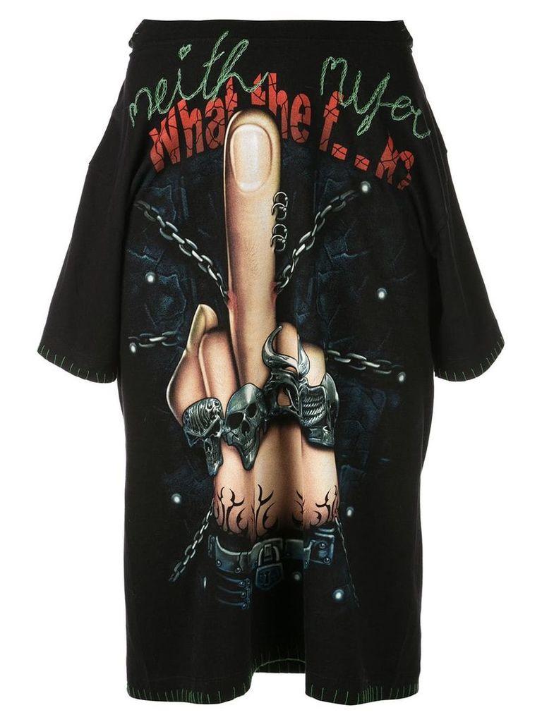 Neith Nyer Finger t-skirt - Black
