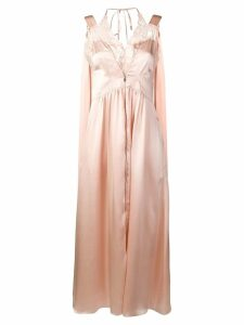 Stella McCartney sleeveless satin dress - Pink