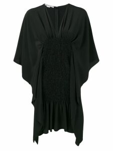 Stella McCartney draped elasticated dress - Black