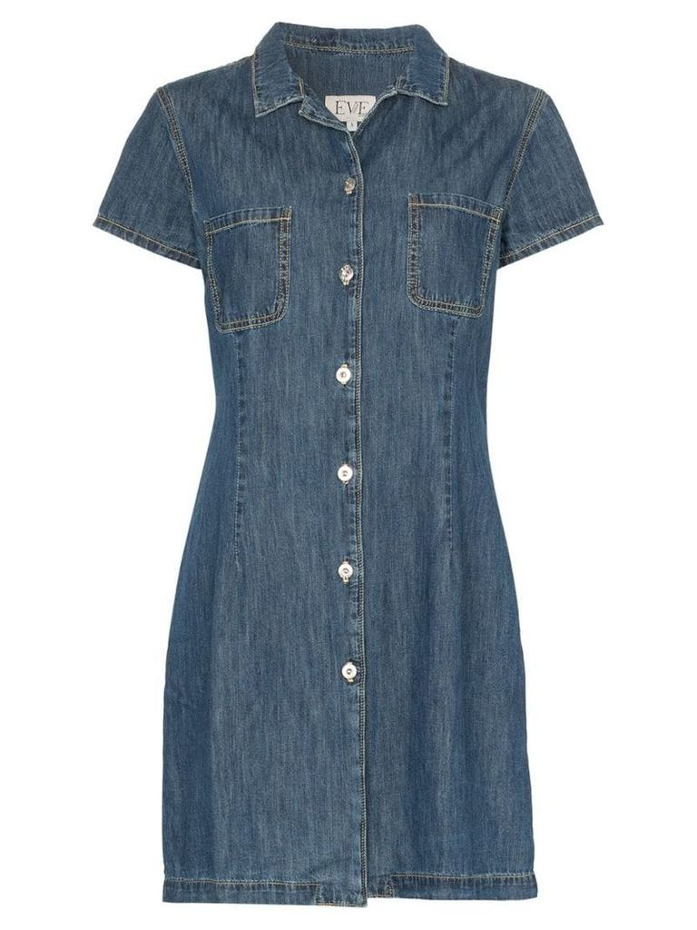 Eve Denim Carlotta denim shirt-dress - Blue