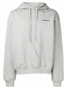 Ader Error oversized hoodie - Grey