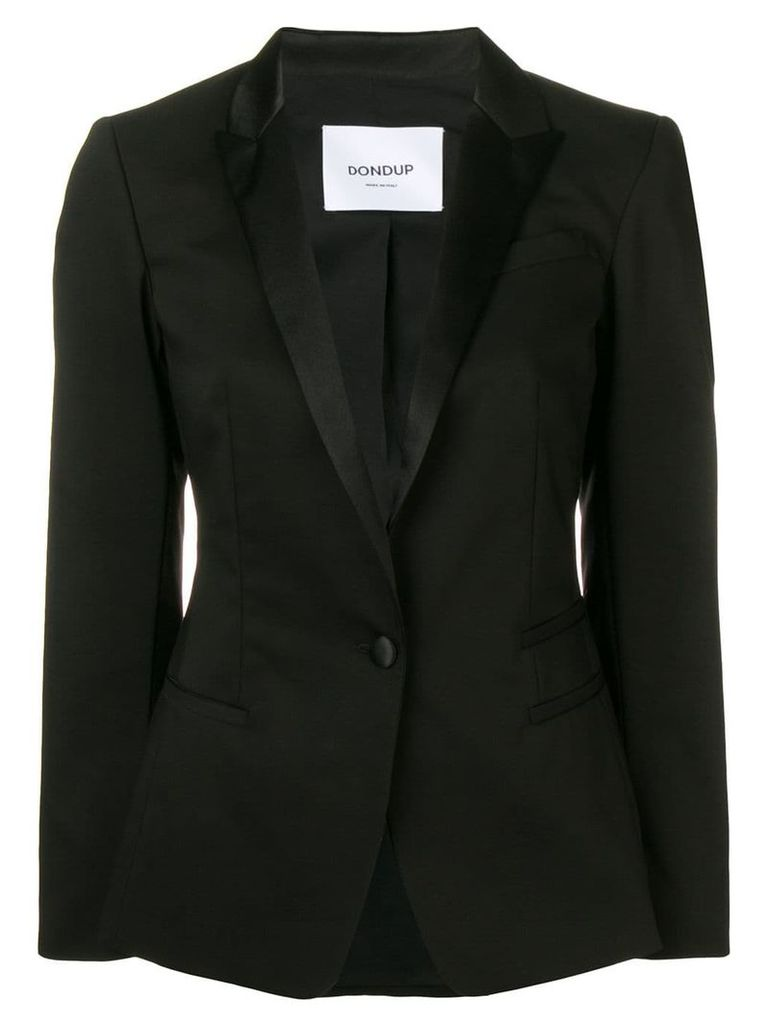 Dondup single-breasted blazer - Black
