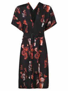 Neil Barrett floral print dress - Black