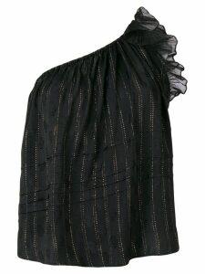 Isabel Marant Melody one-shoulder top - Black
