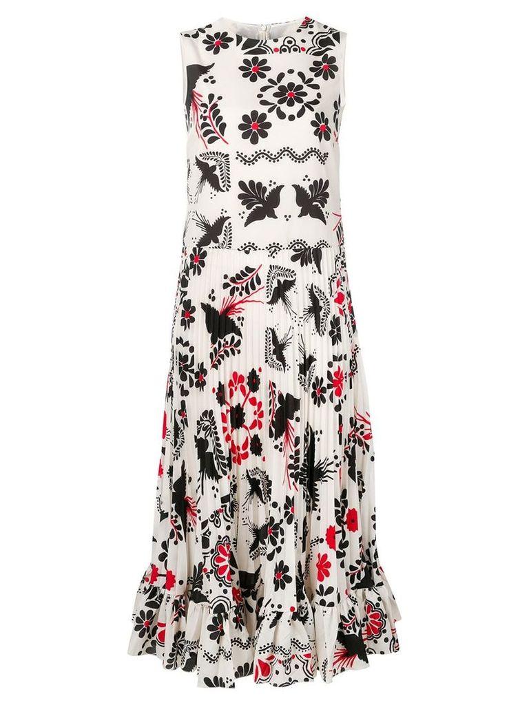 Red Valentino printed Terrace dress - White