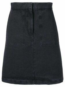 Masscob moss mini denim skirt - Blue