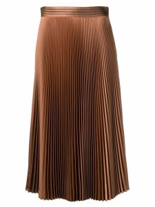Brunello Cucinelli pleated skirt - Brown