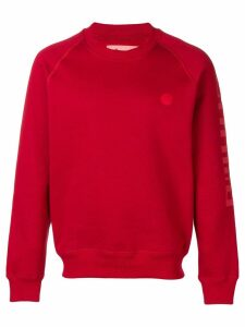 Acne Studios raglan sleeve sweatshirt - Red