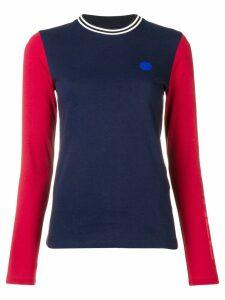 Acne Studios long sleeved T-shirt - Blue