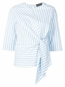 Roberto Collina striped knot shirt - Blue