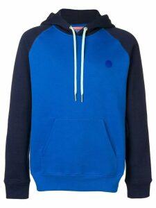 Acne Studios Two-tone hooded sweatshirt - Blue