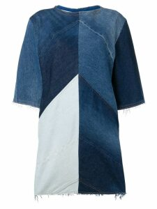 Acne Studios Denim shift dress - Blue