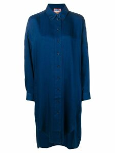 Acne Studios long sleeve shirt dress - Blue