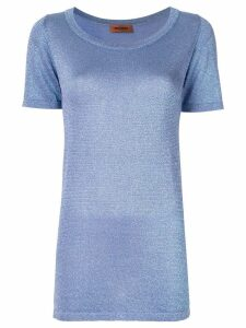 Missoni Vanise Lame T shirt - Blue