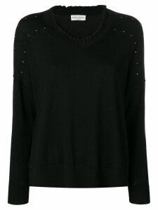 Sonia Rykiel embellished jumper - Black