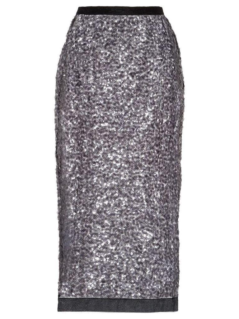 Miu Miu sequined pencil skirt - Black