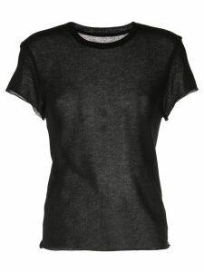 The Elder Statesman basic T-shirt - Black