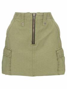 Ksubi Crypt high-waisted mini skirt - Green
