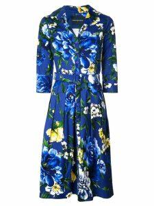 Samantha Sung Audrey belted dress - Blue