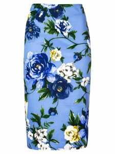 Samantha Sung Chloe floral skirt - Blue