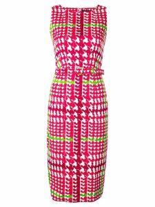 Samantha Sung Celine belted dress - Pink