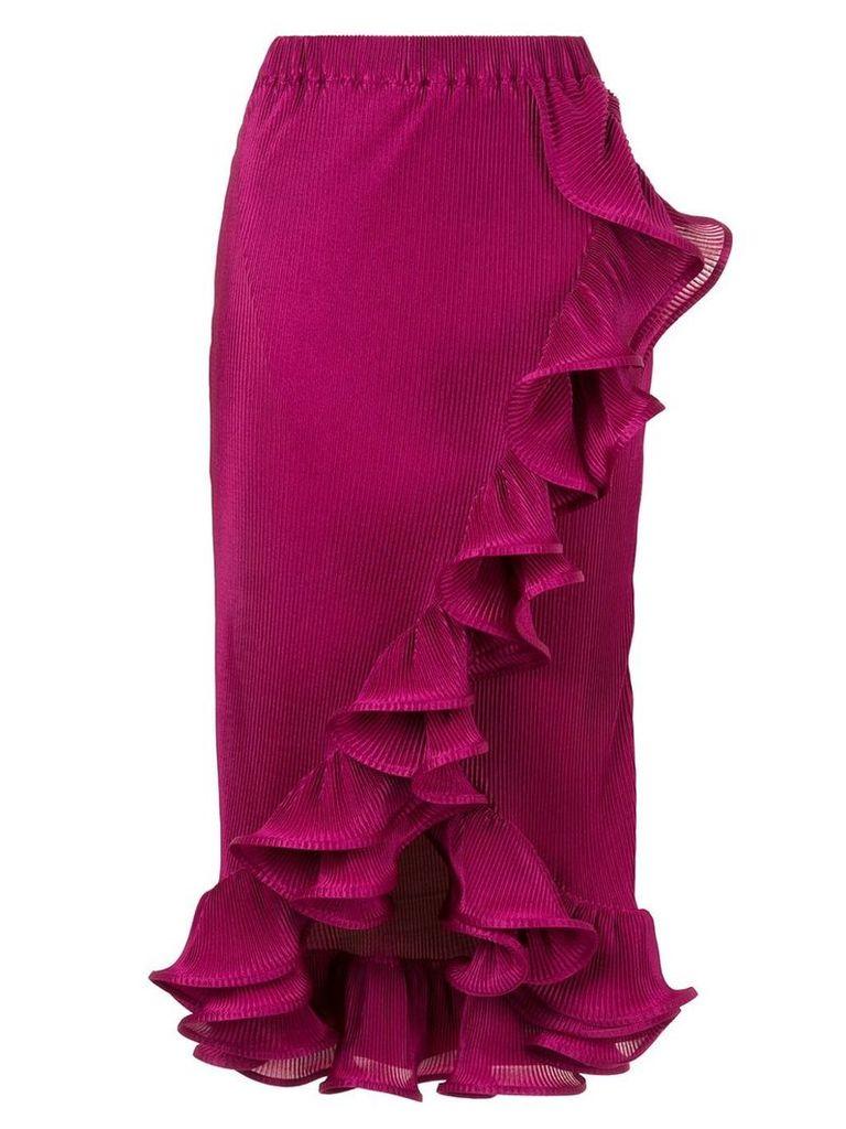 Romance Was Born Bloom pleated skirt - Purple