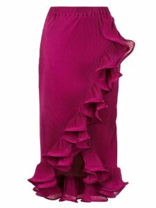 Romance Was Born Bloom pleated skirt - Purple