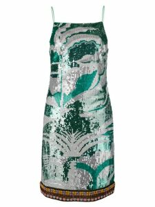 Emilio Pucci Sequinned La Villa Dress - Green
