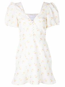 Markarian floral print dress - White